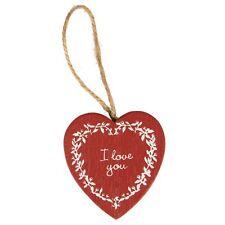 Sass & Belle I Love You Rosso Cuore Da Appendere Decorazione San Valentino