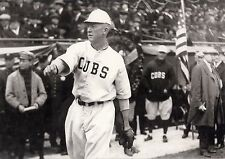 CUBS CLASSIC GROVER CLEVELAND ALEXANDER WARMING UP TO PITCH