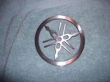 Small Plasma cut Yamaha tuning forks Metal circle Man Cave Wall Decor