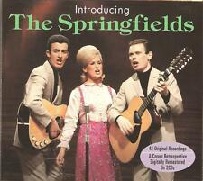 INTRODUCING THE SPRINGFIELDS - 2 CD BOX SET - ISLAND OF DREAMS & MORE