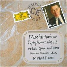 Rachmaninov: Symphonies Nos.1-3; The Bells; Symphonic Dances (CD, Mar-2011, 4...