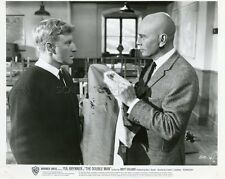 YUL BRYNNER THE DOUBLE MAN 1967 VINTAGE PHOTO ORIGINAL