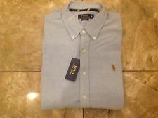 RALPH LAUREN POLO CHAMBRAY DENIM LONG SLEEVE SHIRT X-LARGE BRAND NEW