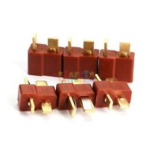 New 10 Pairs Male/Female Ultra T Connectors Plug Deans Style For RC LiPo Battery
