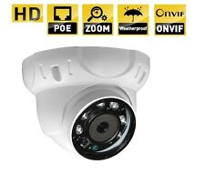 5 Megapixel  HD 1920P Outdoor Network PoE Motorized Lens IR Dome Camera onvif