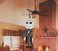 Jack Skellington Nightmare Before Christmas Ceiling Fan Pull Light Lamp Chain 5A
