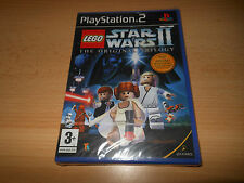 PS2 Lego Star Wars II The Original Trilogy, UK Pal, New  Sony Factory Sealed