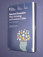 Teaching Co Great Courses  DVDs    BEHAVIORAL  ECONOMICS         new & sealed