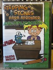 Stepping Stones Para Aprender Multiplicacion (DVD, 2004), NEW, Same Day Shipping