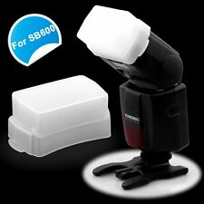 White Soft Flash Bounce Diffuser Cap Softbox for Yongnuo Speedlite Speedlight