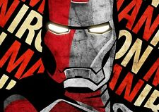 A1 IRONMAN IRON MAN MOVIE LARGE WALL ART PRINT POSTER