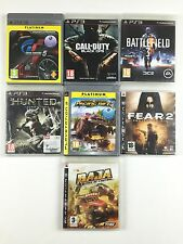 Lot 7 Jeu Gran Turismo 5, Fear 2, Battlefield 3, Call of Duty Black Ops Baja PS3