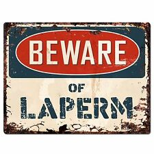 Pp1580 Beware of Laperm Plate Rustic Chic Sign Home Room Store Decor Gift