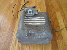 1936 Philco Radio Control Head Speaker Model 817  Plymouth Dodge DeSoto Chrysler
