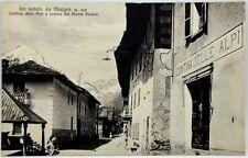 Cartolina Formato Piccolo - Un Saluto Da Morgex m. 920 Cantina Delle Alpi E Cate
