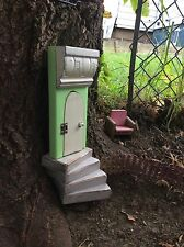 Green Fairy Door, Fairy Garden, Garden Decor, Housewarming, Birthday, For Her.