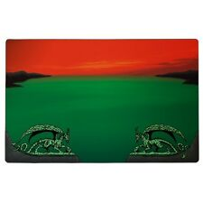 TAPPETINO Red Zone PLAY MAT PLAYMAT Dragon Shield 60x40 cm