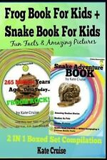 Discovery Book: Frog Book for Kids + Snake Book for Kids : Fun Facts and...
