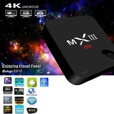 MXIII-G MX3 Amlogic S912 Octa Core 2GB+16GB 4K Android 6.0 Smart TV BOX KODI US