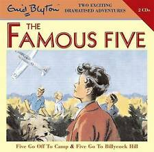 FIVE GO OFF TO CAMP & FIVE GO TO BILLYCOCK HILL- Enid Blyton (CD-Audio2008) NEW