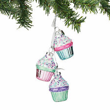 4053731 Mrs Claus Sweet Shop Cupcake Dangle Christmas Dept 56 Holiday Ornament
