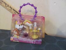 Disney's Beauty and the Beast Mrs Potts & Lumiere 2-pack NEW