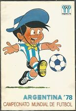 Mini Poster Argentina Soccer World Cup 1978 w Logo