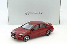 MERCEDES-BENZ CLA-classe patagonie rouge metallic 1:18 NOREV