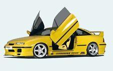 Rieger Seitenschweller mit Schacht und 2 Ausschnitten für Opel Calibra A