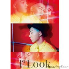 BIGBANG TAEYANG Cover, Korean Magazine 1st look Vol.72, KPOP Big Bang Photo book
