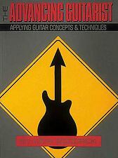 The Advancing Guitarist Learn to Play Lesson Tutor Chord Music Book