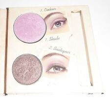 Bourjois Eyeshadow Eyeliner Wet/Dry Duo Orchid Brown 14 Mauve a Croquer Damaged