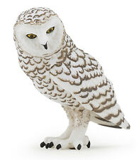 Papo 50167 Snowy Owl Wild Forest Bird Model Toy Replica Figurine - NIP