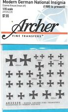 Archer Modern German National Insignia 1985 to Present Transfers Decals 35228