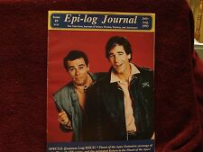 EPI-LOG TV JOURNAL #9 Quantum Leap SPECIAL  Planet of the Apes July Aug 1993