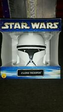 STAR WARS CLONE TROOPER HELMET /mask collector's edition 65002 STAR WARS 2002