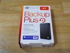 "4TB Seagate Backup Plus Portable External H. Drive 2.5"" USB 3.0 STDR4000300"