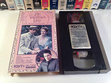 On Valentine's Day aka Story Of A Marriage Rare Drama VHS 1986 OOP Hallie Foote