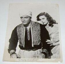 Elaine Stewart John Derek Movie Vintage Publicity Still Photo Hajji Baba