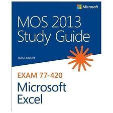 MOS Study Guide: Microsoft Excel : Exam 77-420 by Joan, III Lambert (2013,...