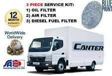 FOR MITSUBISHI CANTER 2.8D 2.8DT 35 1996-2000 OIL AIR FUEL FILTER SERVICE KIT