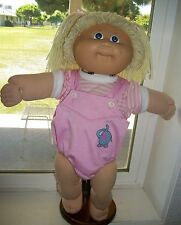 CABBAGE PATCH KIDS 1985 HM3 GIRL BLUE EYES LEMON HAIR PRETTY IN PINK!!