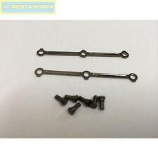 X9009B Hornby Spare COUPLING RODS/SCREWS for TOBY BLACK NICKEL