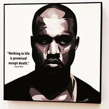 Kanye West canvas quotes wall decals photo painting framed pop art poster