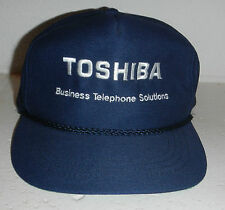 Vintage Toshiba Business Telephone Solutions Embroidered Baseball Hat Cap