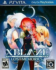 XBlaze Lost: Memories (Sony PlayStation Vita, 2015) BRAND NEW SEALED