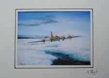 KUNSTDRUCK - Boeing B-17 Flying Fortress.