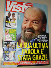 BUD SPENCER COVER MAGAZINE COPERTINA RIVISTA=VISTO=2016=LA SUA ULTIMA PAROLA=