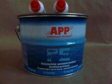 2X 4kg de mastic universel polyester pour la carrosserie peinture auto APP