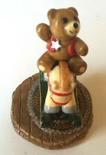 Wee Forest Folk T-06 Ride 'em Teddy! + Many More WFF's on SALE-Same Day Shipping